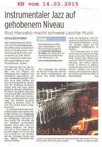 KN-Ankündigung CD-Konzert Hohenzell