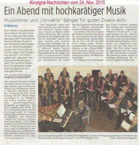 Konzert DE-IT in Steinau-Bericht
